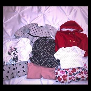 8 items BUNDLE 9 MONTHS baby girl